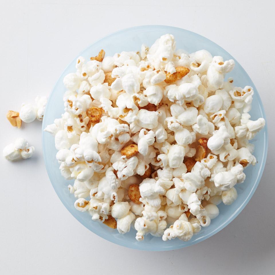 Honey-Peanut Popcorn EatingWell Test Kitchen