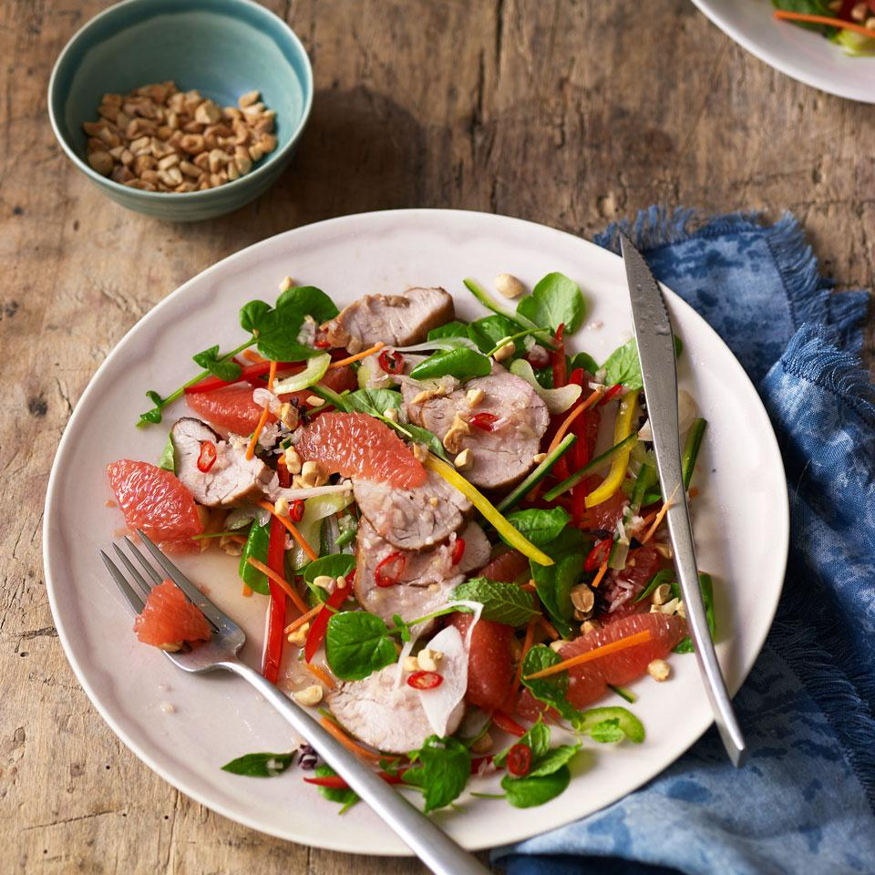 Vietnamese Grapefruit & Pork Salad (Pork Goi Buoi) EatingWell Test Kitchen