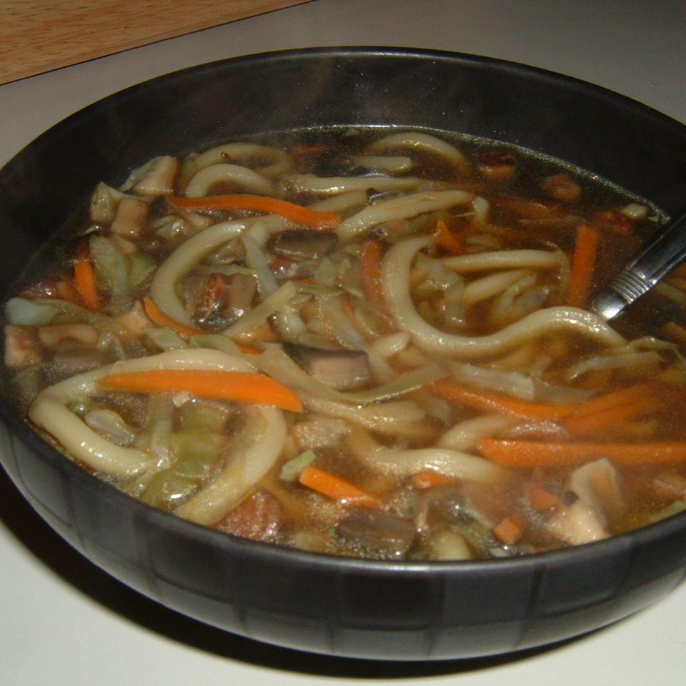 Asian Mushroom Soup USA WEEKEND columnist Jean Carper