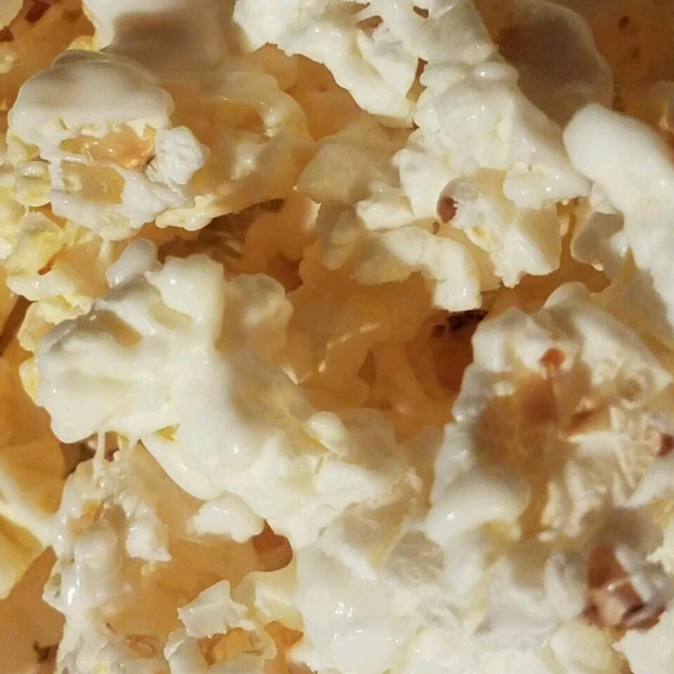 Holiday White Chocolate Popcorn DivineDevotion