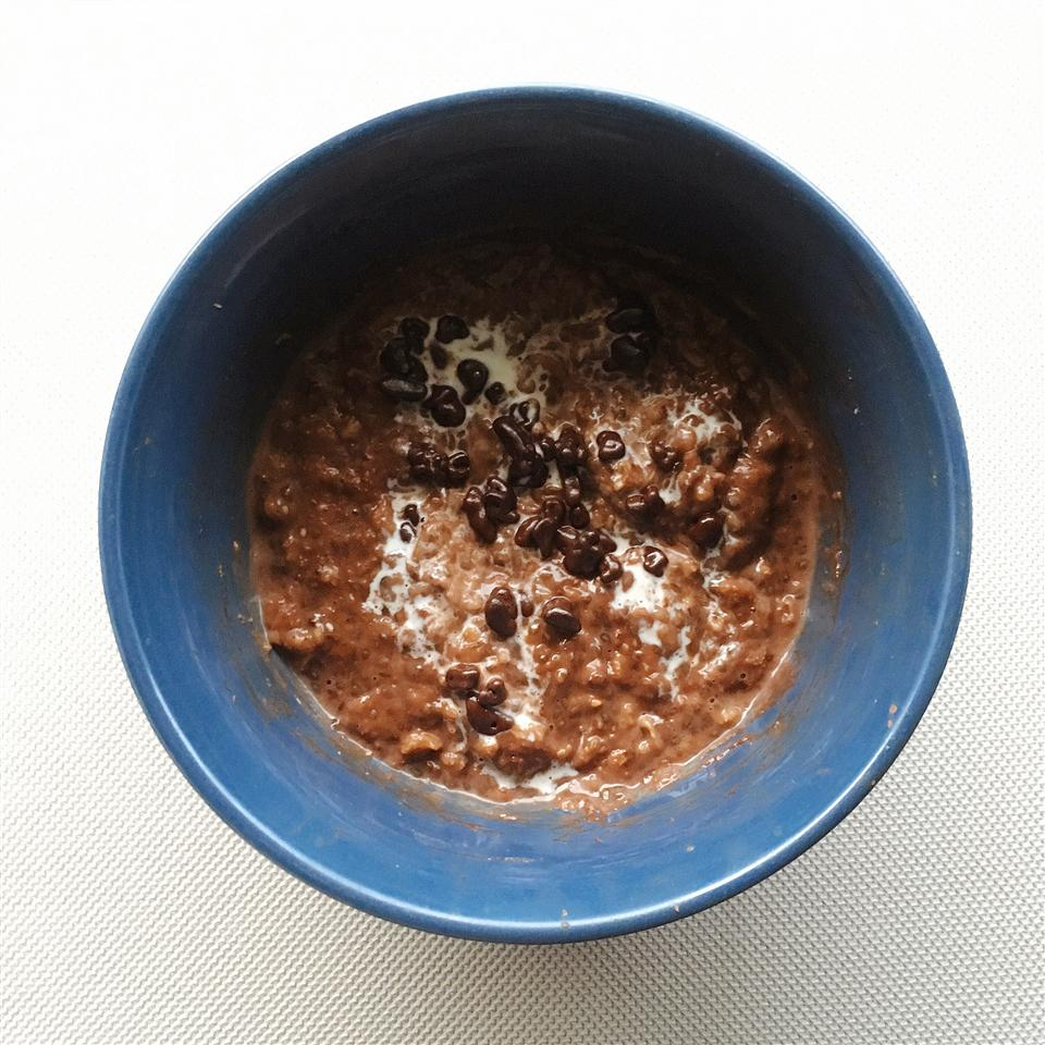 Chocolate Coffee Oatmeal