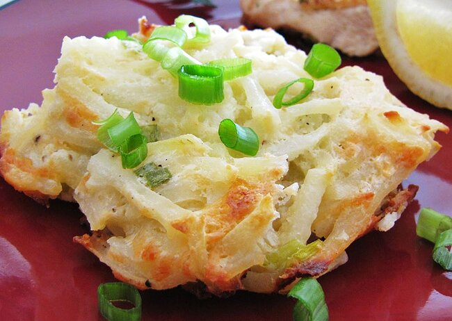 Asiago Hash Browns