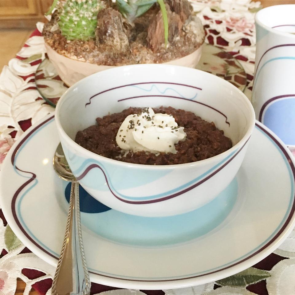 Chocolate Coffee Oatmeal Yoly