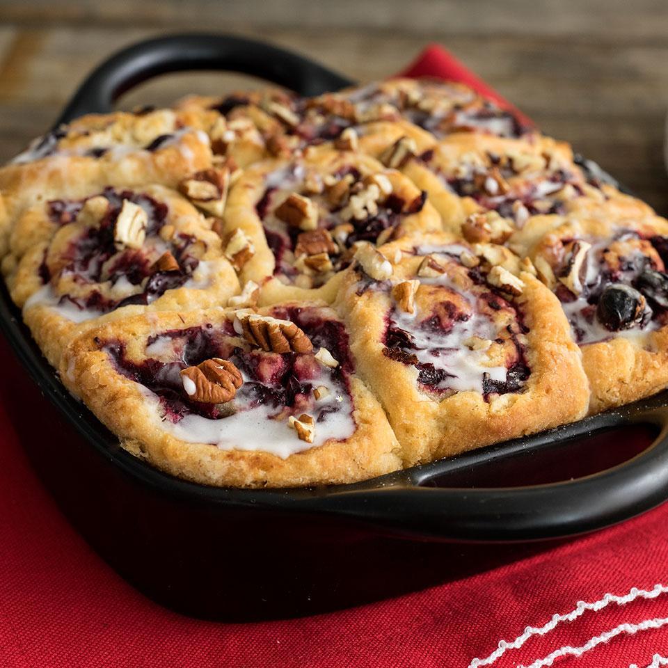 Cranberry Pecan Breakfast Buns