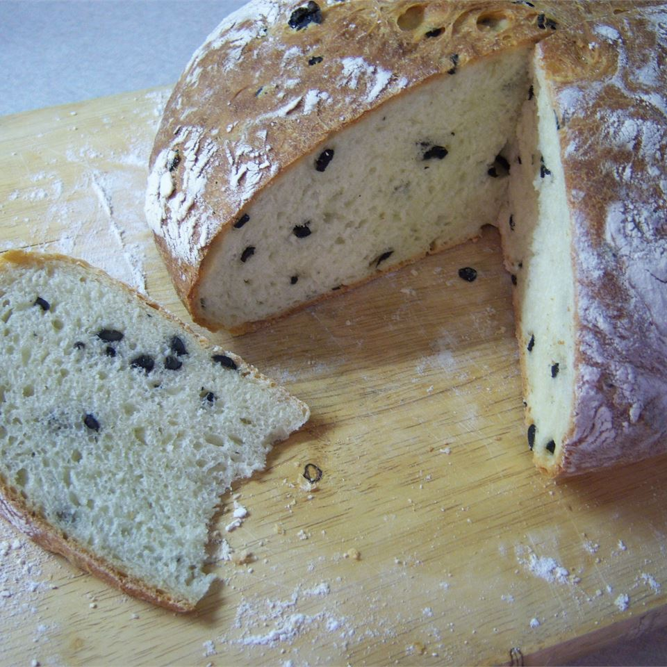 Mediterranean Black Olive Bread Steve
