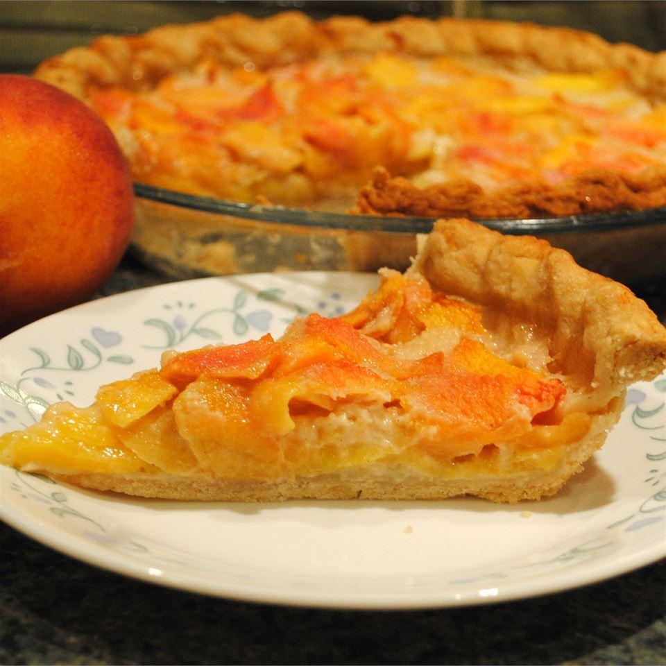 Peach Custard Pie I phaylock