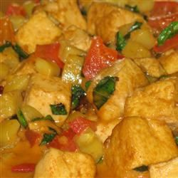 Lime-Curry Tofu Stir-Fry