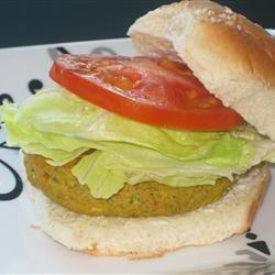 Garbanzo Bean Burgers Fit&Healthy Mom