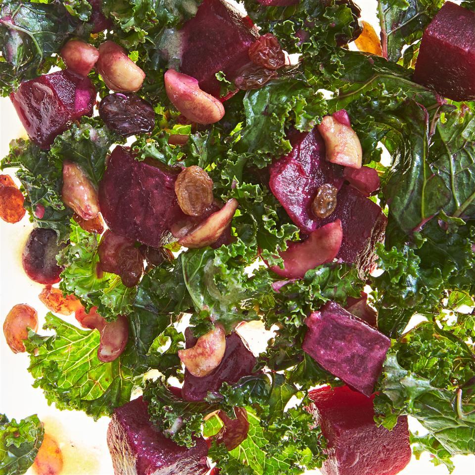 Roasted Beet and Kale Salad Allrecipes Magazine