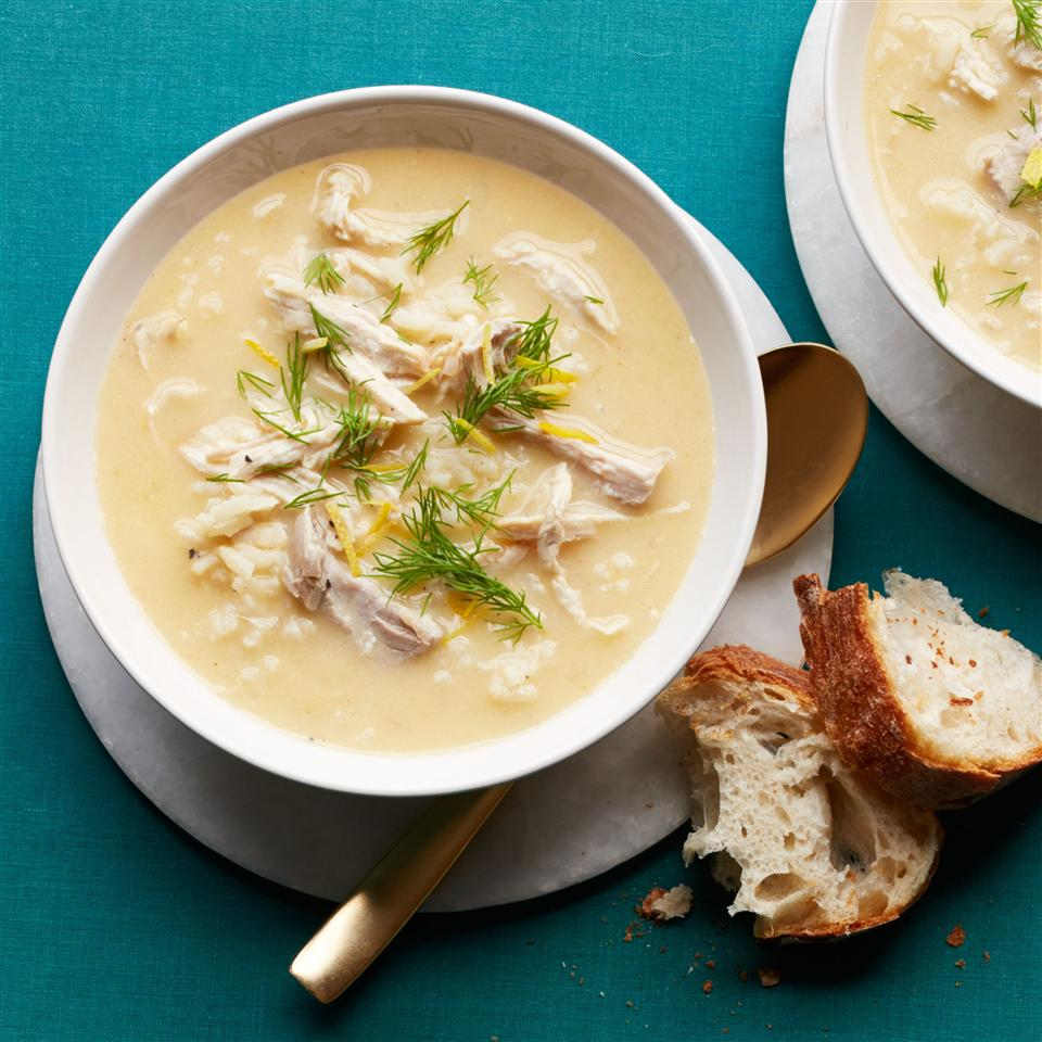 Avgolemono Soup Allrecipes Magazine