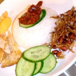 Malaysian Nasi Lemak Lydia