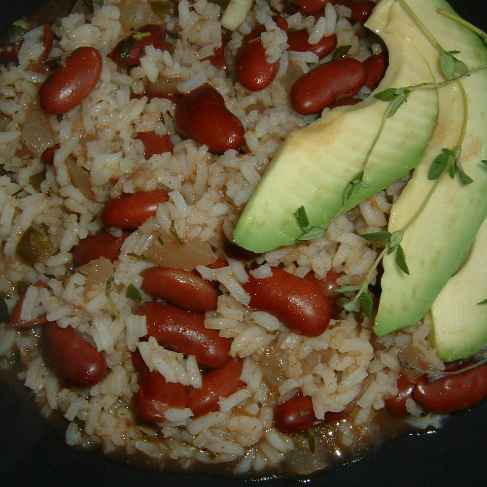 Rice & Beans (Haitian Style) Caroline C