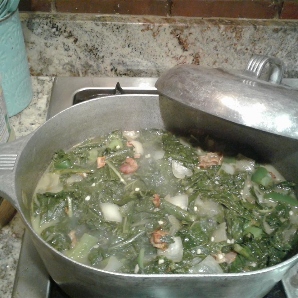 Healthy and Delicious Southern Turnip Greens Brandi Silvey
