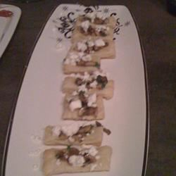 Mini Mushroom and Goat Cheese Tarts LittleChef