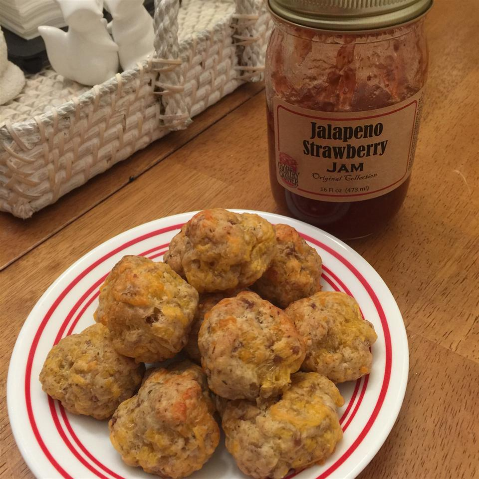 Sausage-Cheese Balls Nicole Stevens Bauer