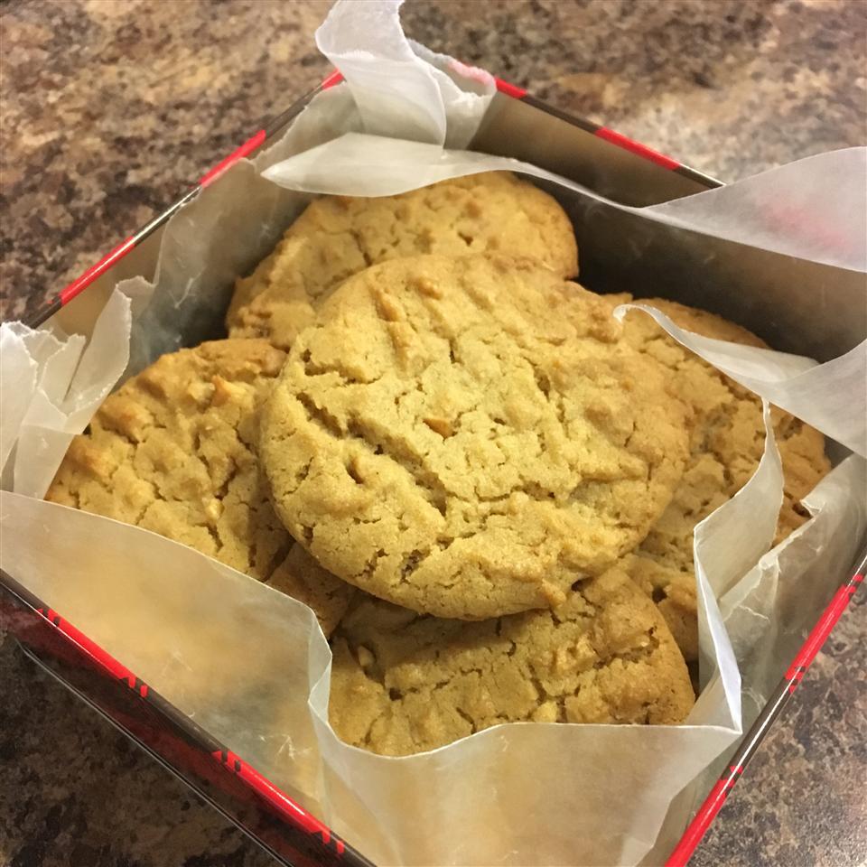 Classic Peanut Butter Cookies Shirley Sadler