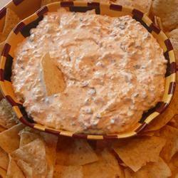 Cheesy Sour Cream and Salsa Dip Shawn Hoffman Zimmerman
