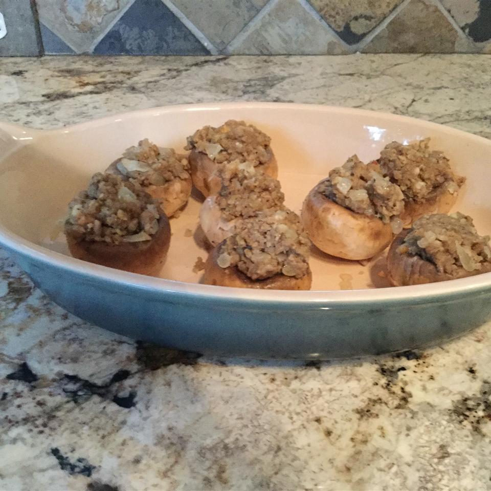 Easy Sausage Stuffed Mushrooms Dianna