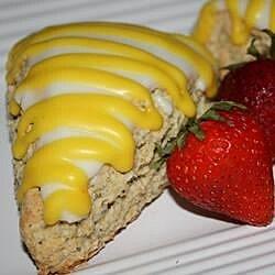 lemon poppyseed scones recipe