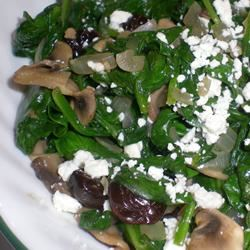 Wilted Spinach with Cherries and Goat Cheese Kim's Cooking Now