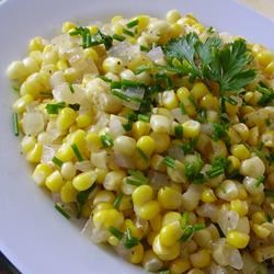 Warm Corn Salad