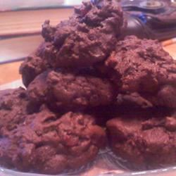 Chocolate-Chocolate Chip Bacon Cookies bsblmom