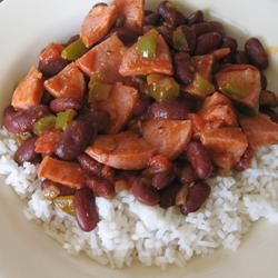 Easy Red Beans and Rice OmaCindy