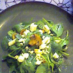 Warm Mushroom Salad Chris Bennett