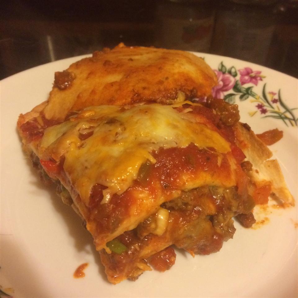 Taco Lasagna Dante Henderson