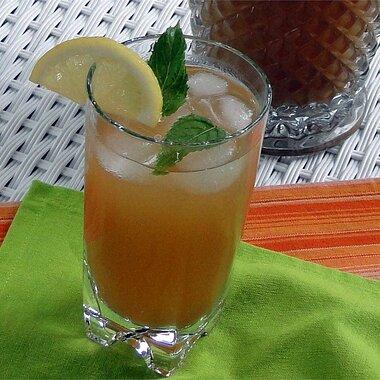 mint tea punch recipe