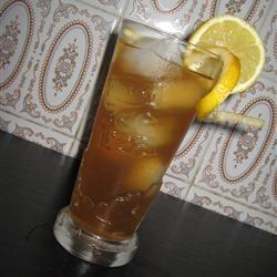 Sweet Lime Iced Tea