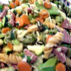 Rainbow Pasta Salad II LeviCooks