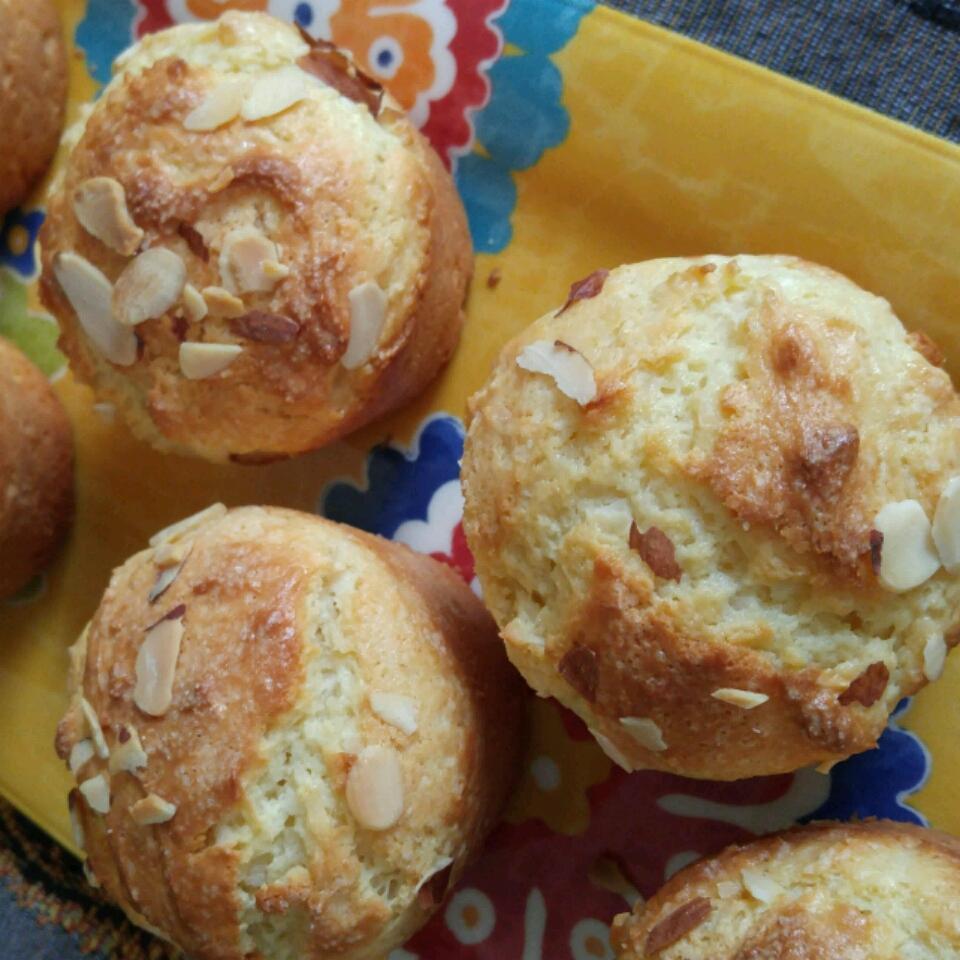 Almond Coconut Muffins Melissa Johnson