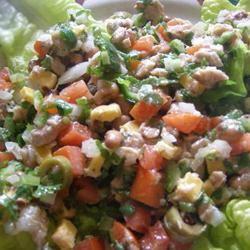 Kidney Bean Tuna Salad Casablancaise