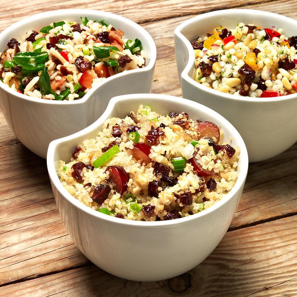 Quinoa, Grape, and Prune Salad Sunsweet