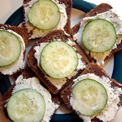 Cucumber Sandwiches I MBKRH