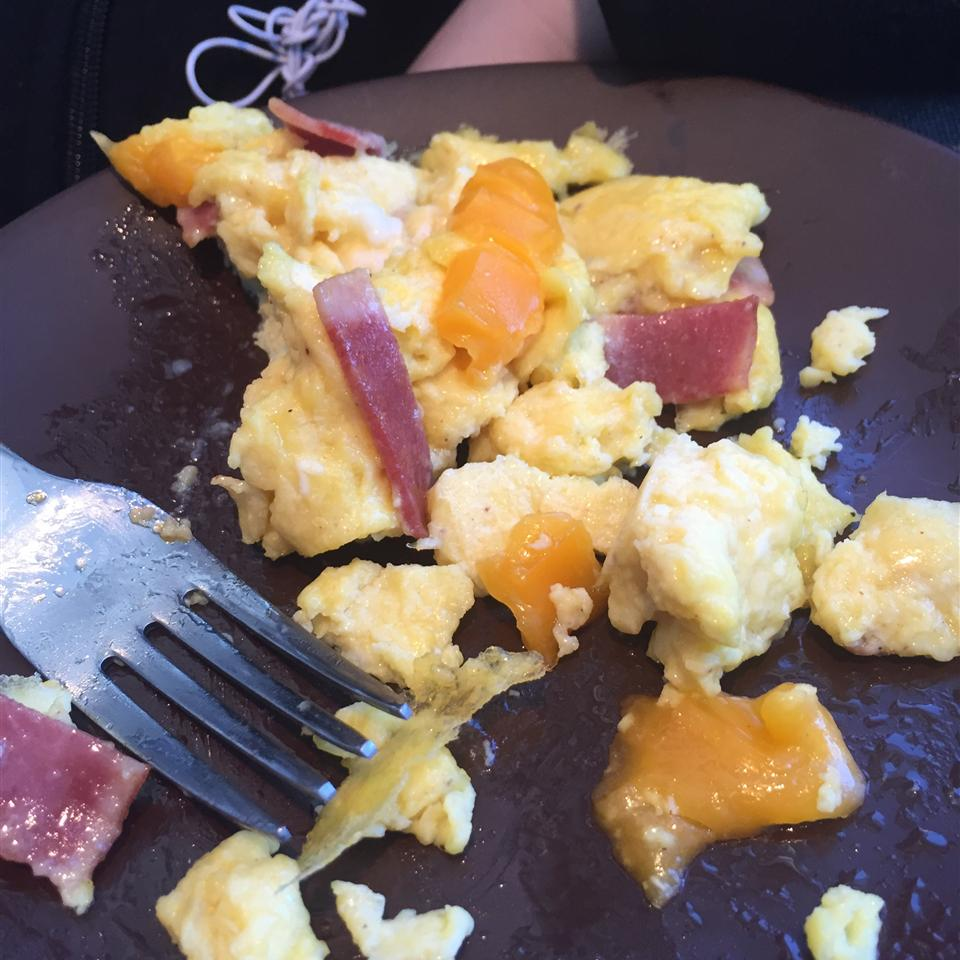 Sharon's Egg and Ham Scramble pingnova