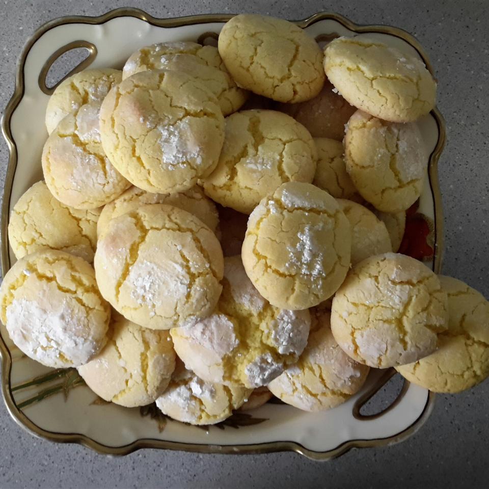 Easy Lemon Cookies DEADTIRED