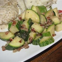 Zucchini and Pecan Saute