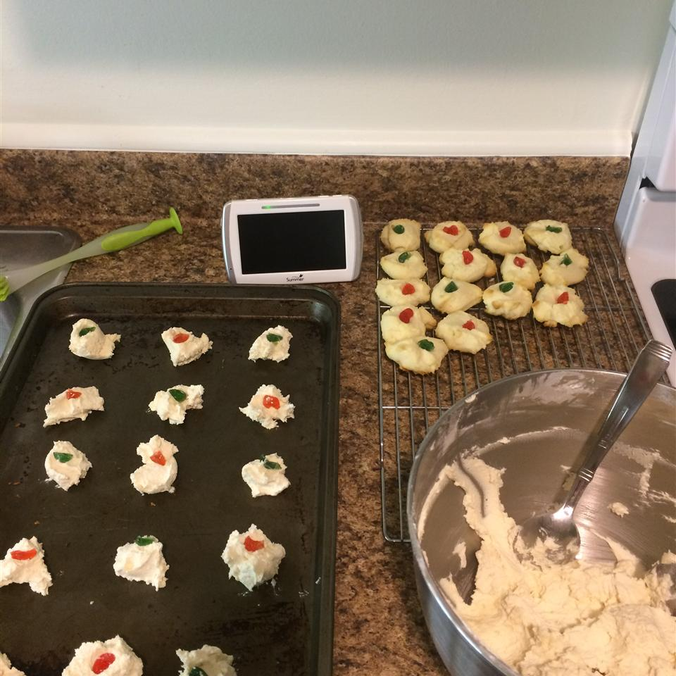 Whipped Shortbread Cookies