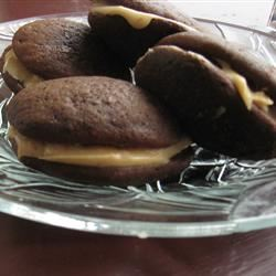 Stef's Whoopie Pies with Peanut Butter Frosting corndogmcp