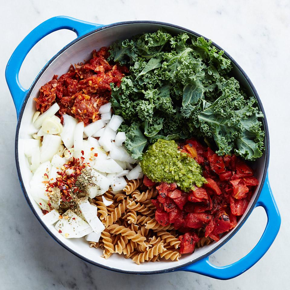 One-Pot Italian Sausage & Kale Pasta Trusted Brands