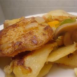 Garbage Fried Potatoes amandak23k