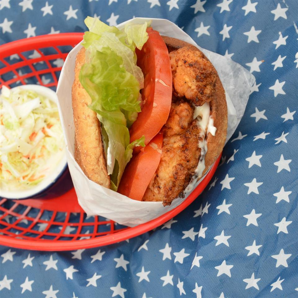 EZ Fried Chicken Sandwich
