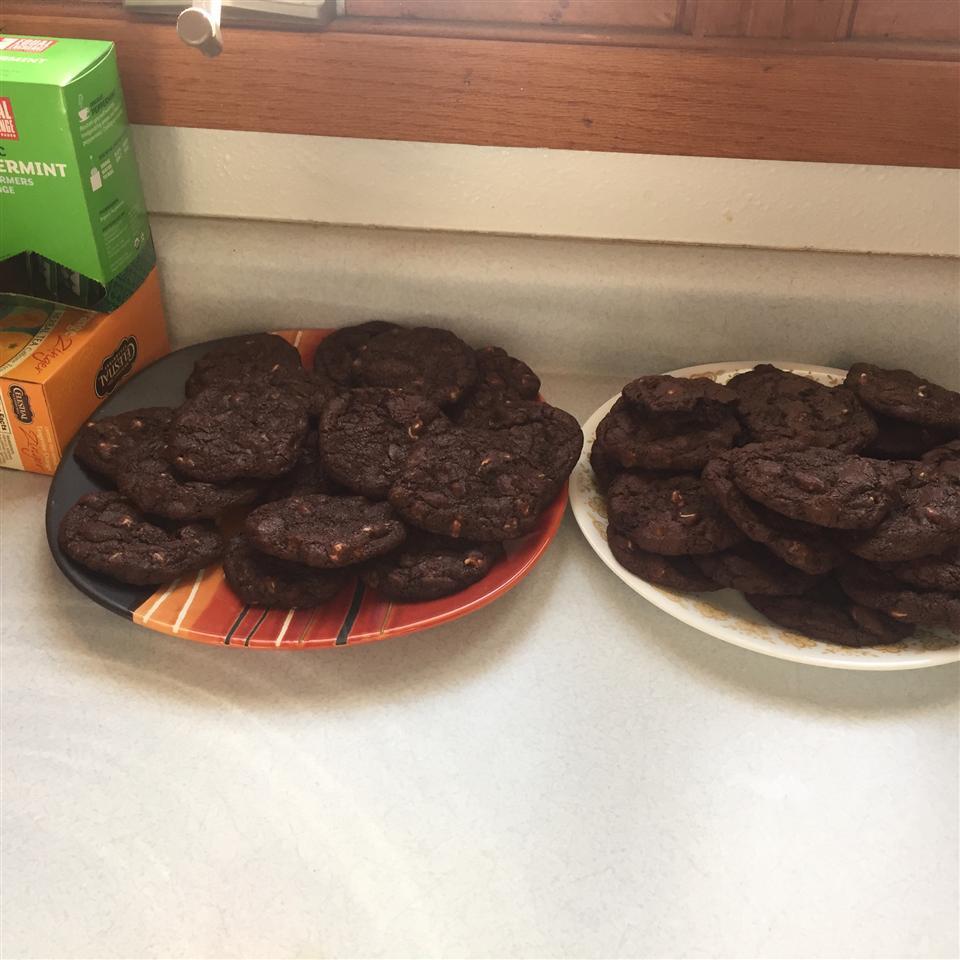 White Chocolate, Chocolate Cookies Brooke Murphy
