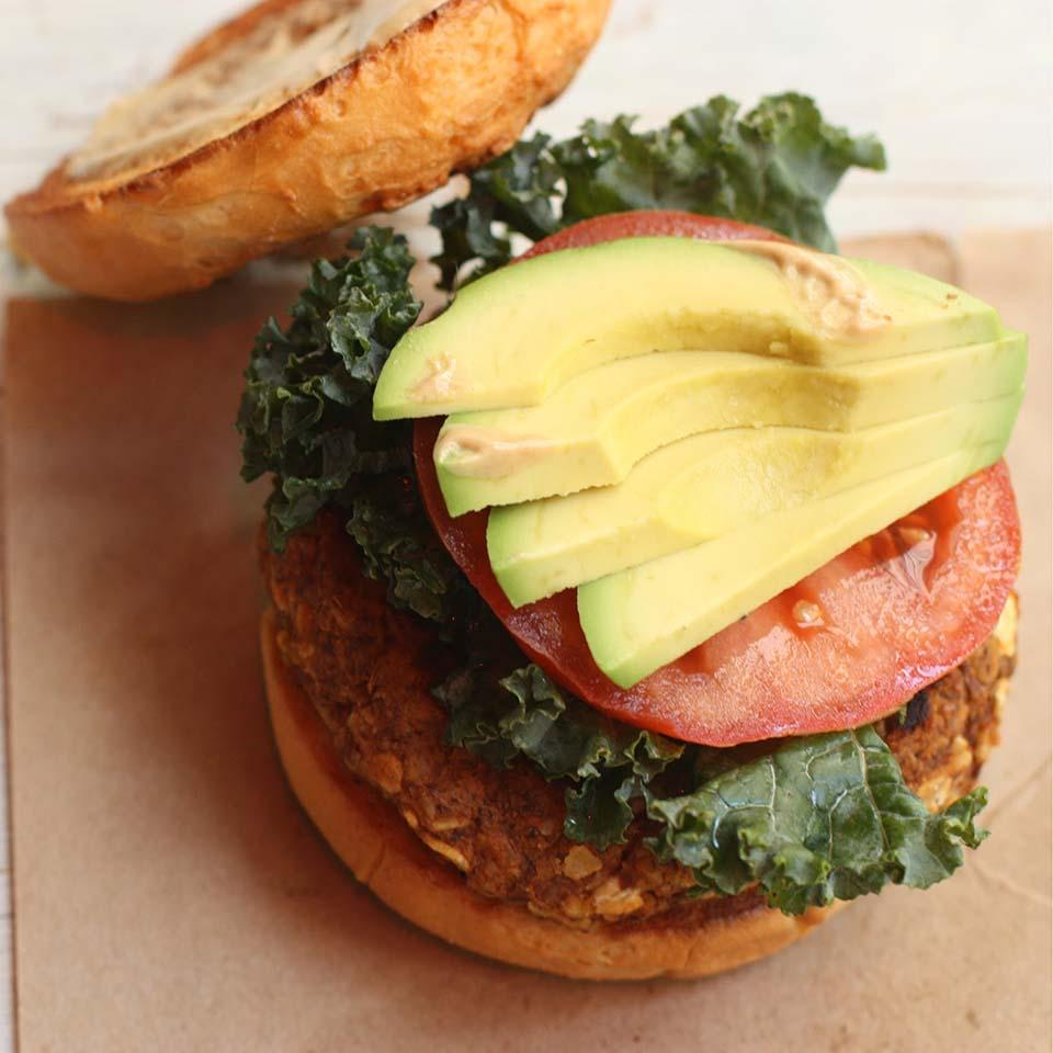 Sweet Potato Avocado Sliders Silk