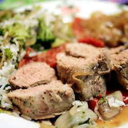 Italian-Style Pork Tenderloin Add  Lim