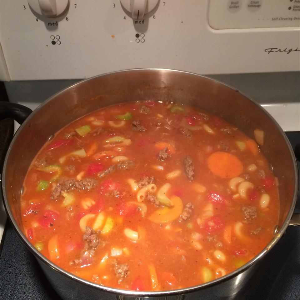 Hamburger Soup III