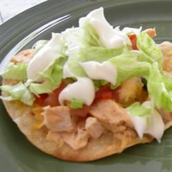 Chipotle Chicken Tostadas Jaay