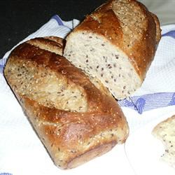 Cracked Wheat Sourdough Bread Judy D